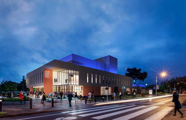 Rendering of Scheidt Family Music Center - ARCHIMANIA