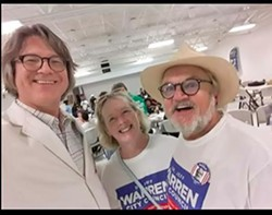 Charley Burch (l) with K.C. and Jeff Warren - JACKSON BAKER