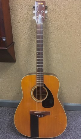 Chris Bell's acoustic guitar