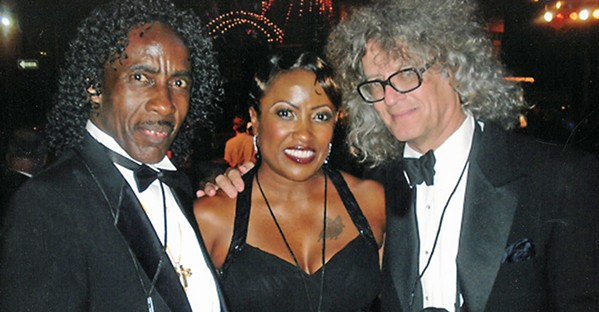 I'm honored to be in this photo with the late, great Robert Raiford and the great great Paula Raiford. This was taken at a Blues Ball at the Gibson Guitar Factory.