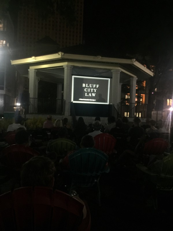 Unofficial Official Downtown Bluff City Law Watch Party - MICHAEL DONAHUE