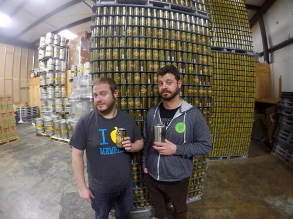 Wiseacre co-founders Davin Bartosch and Kellan Bartosch - TOBY SELLS