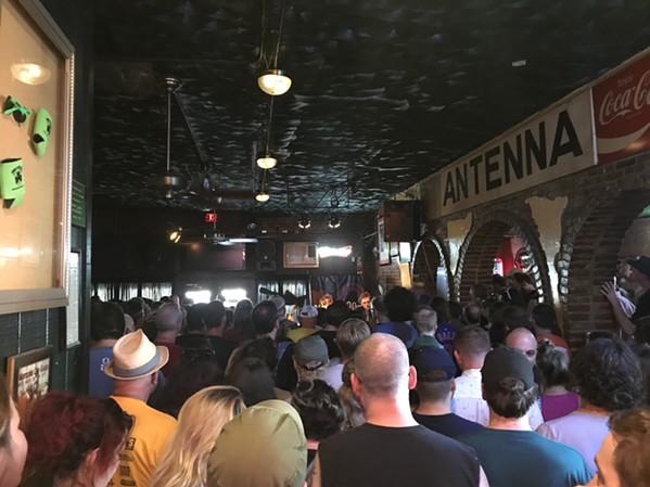 Aquarian Blood played to a packed house at Murphy's during Gonerfest 16. - JESSE DAVIS
