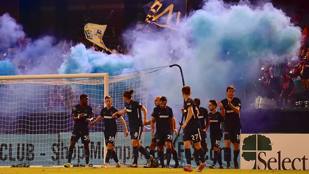 A complete team performance leaves Memphis well-poised heading into its final four games. - MEMPHIS 901 FC