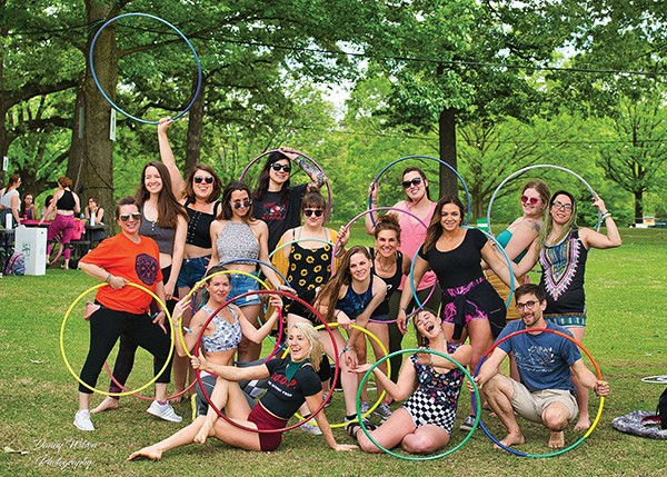 Go With the Flow: World Hoop Day Celebration at Paint Memphis
