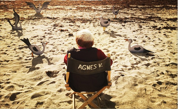 The great director says goodbye in Varda by Agnes.
