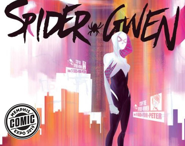Spider-Gwen co-creator Robbi Rodriguez is coming to the Memphis Comic Expo.