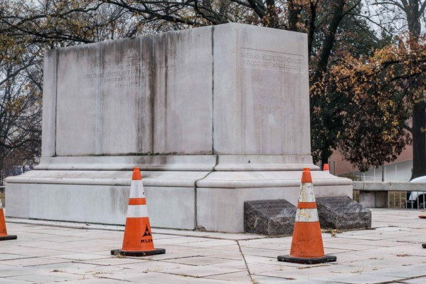 'Never to Return': Greenspace Wants Confederate Statues Out of Shelby County