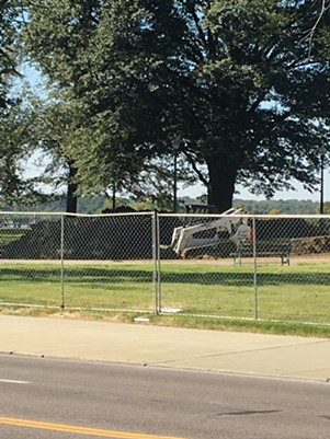 Renovations are underway at Memphis Park