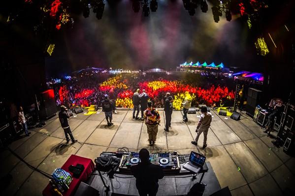 Wu-Tang Clan at Mempho - KEITH GRINER