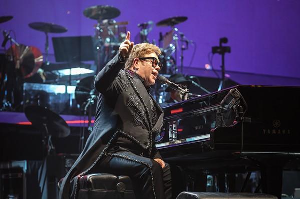 Elton John - JAMIE HARMON