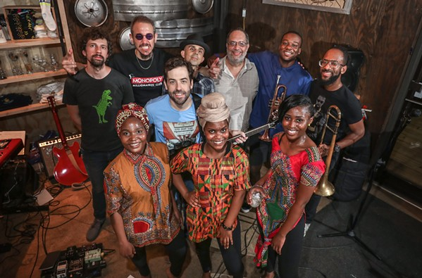 Obruni Dance Band & the Mama Africa Dancers - JAMIE HARMON