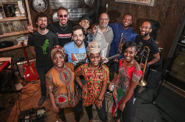 Obruni Dance Band & the Mama Africa Dancers - JAMIE HARMON