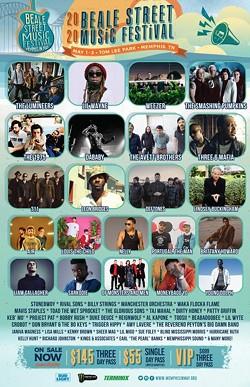 Beale Street Music Fest Announces Full 2020 Lineup