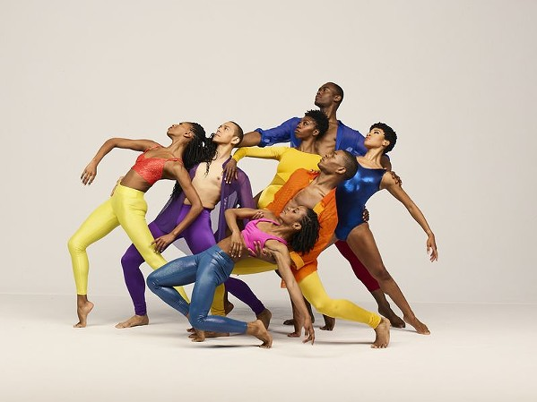 Alvin Ailey American Dance Theater - PHOTO BY ANDREW ECCLES