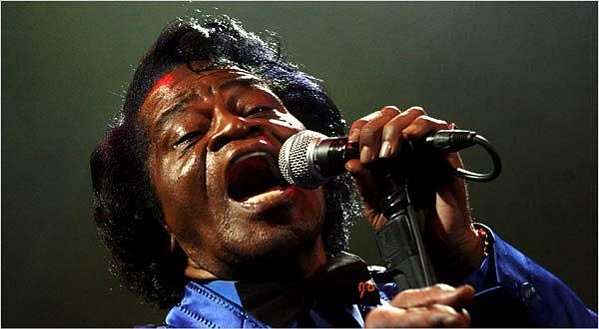 James Brown at the Zaire 74 festival
