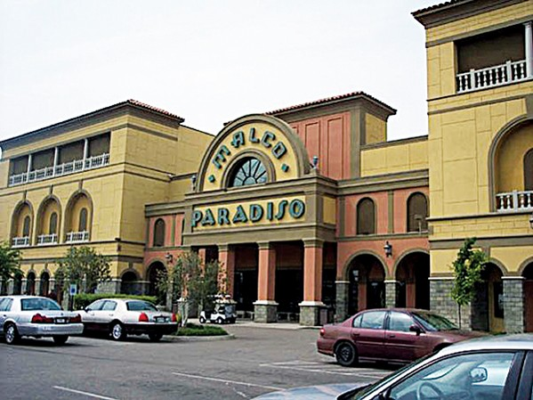 The Malco Paradiso theater in East Memphis