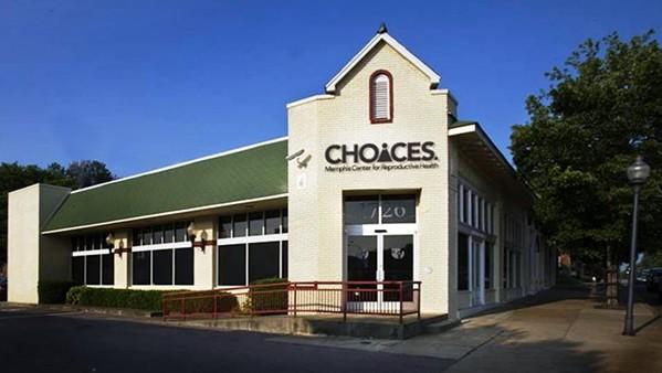 CHOICES' main clinic on Poplar - FACEBOOK/CHOICES
