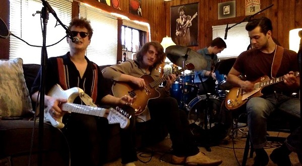 The Harbert House Band live streaming March 28th.
