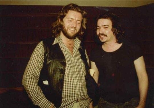Knox Phillips and John Prine, ca. 1979 - DIANE DUNCAN PHILLIPS
