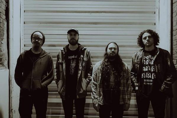 Autolith (left to right): Mark Brake, Ryan O'Neal, Ian Younkin, Brian Hillhouse