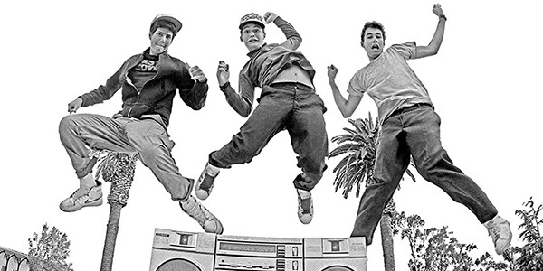 The Beastie Boys, Ad-Rock, Mike D, and MCA, jumped into the spotlight with 1986's License To Ill.