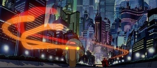 Neo Tokyo in Akria (1988)