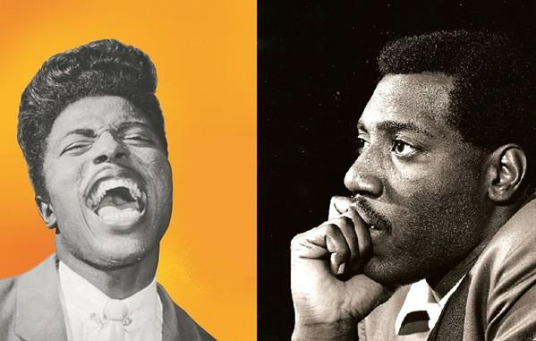 Little Richard & Otis Redding - (L) COURTESY SPECIALTY ARCHIVES; (R) BY JEAN PIERRE LELOIR