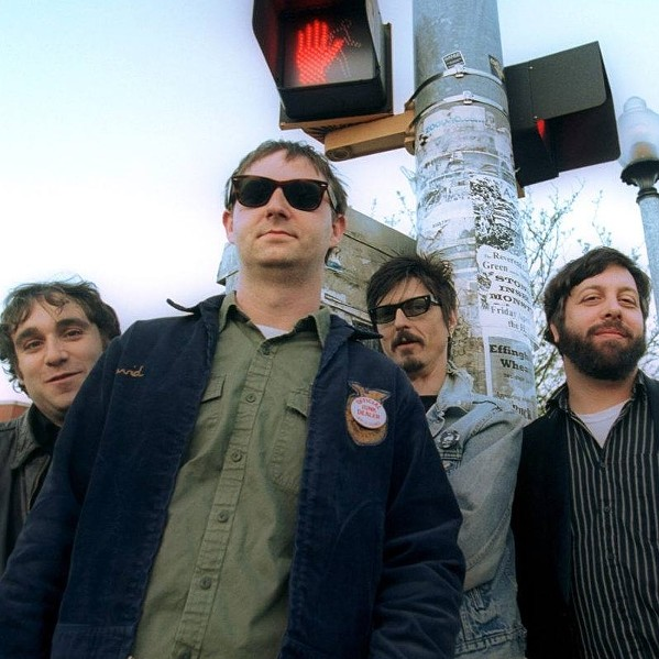 Reigning Sound: (left to right) Jeremy Scott, Greg Cartwright, Greg Roberson, and Alex Greene