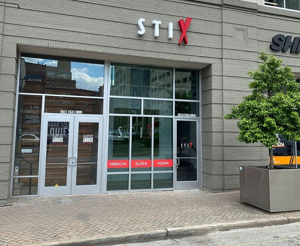 The entrance to STIX Restaurant on Second St. - PHOTO COURTESY STIX RESTAURANT