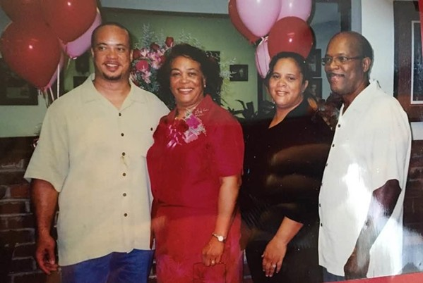 Roman Bates, Jo Ellen Bates, Patrice Bates Thompson, and Willie Earl Bates.