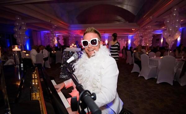 Jerred Price as Almost Elton John - JERRED PRICE/FACEBOOK