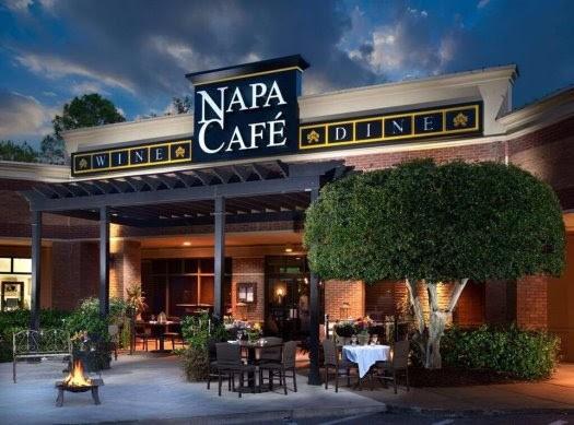 Napa Café before outdoor seating was expanded. - PHOTO COURTESY NAPA CAFÉ