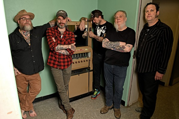 Lucero at Sam Phillips Recording - DAN BALL