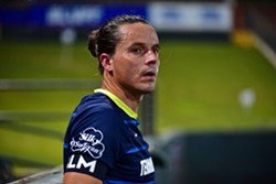 Captain Marc Burch announced his retirement upon the conclusion of 901 FC's season - ERIC GLEMSER