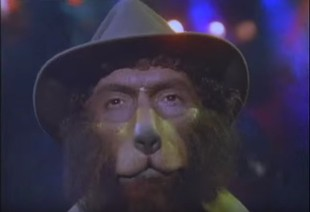 "Still from ""Dog Police"" video"