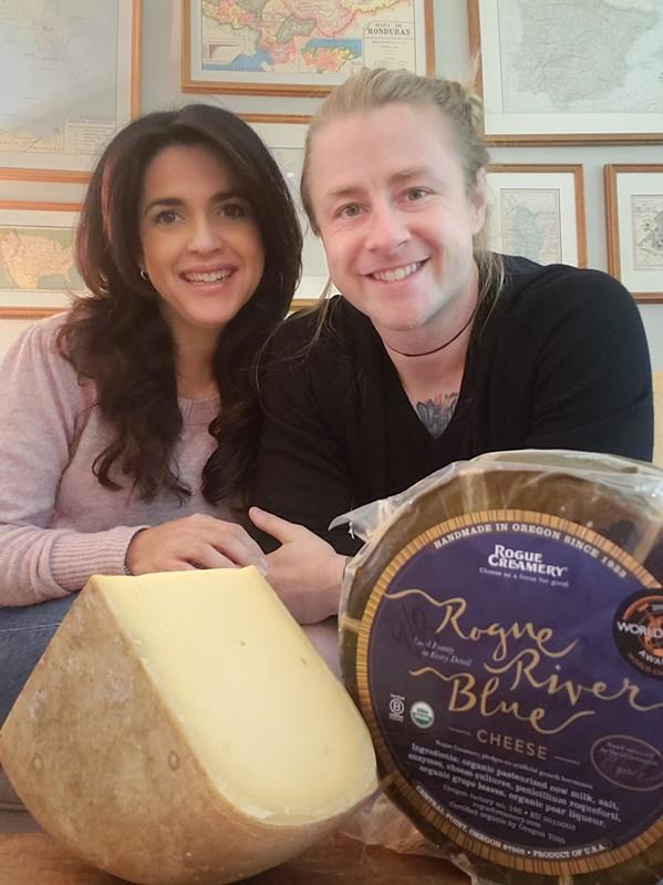 Jackie Mau and Kurt Mullican of Greys Fine Cheese & Entertaining
