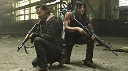 Andrew Lincoln and Norman Reedus in The Walking Dead
