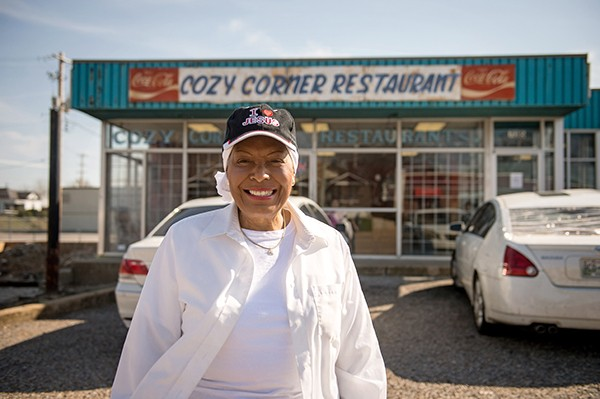 Cozy Corner owner and American Royal's BBQ Hall of Fame inductee Desiree Robinson - BRANDON DILL