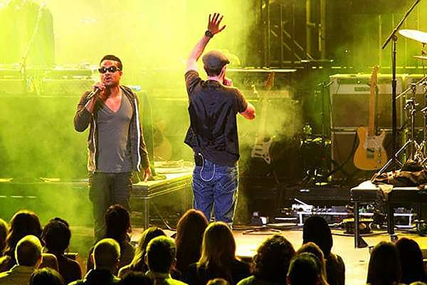 FreeSol was ahead of the curve in rapping over music by a live band. - COURTESY  OF FREESOL