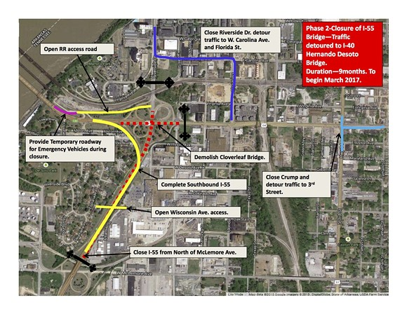 Phase 2 of TDOT's I-55 interchange plan - TENNESSEE DEPARTMENT OF TRANSPORTATION