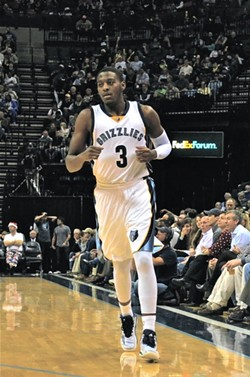 Jordan Adams didn't play much as a rookie, but he's an important piece of the Grizzlies' future going forward. - LARRY KUZNIEWSKI