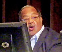 """Council chairman Lowery: Necesary """"to remove the symbols of bigotry...."""" - JB"""