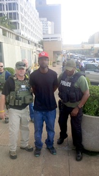 Tremaine Wilbourn turned himself in Tuesday afternoon.