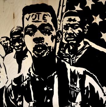 """LAWRENCE MATTHEWS, """"VOTE III"""""""