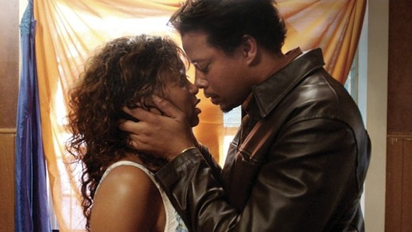 Shug and DJay's kiss.