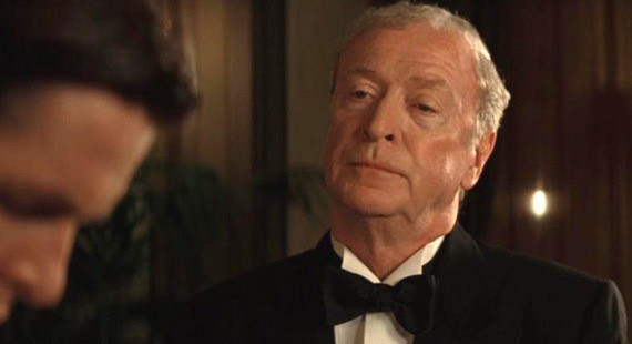 Michael Caine as Alfred