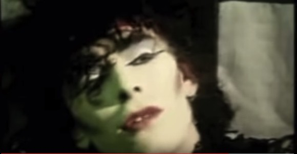 Look at his eye makeup. Your gothiness is invalid.