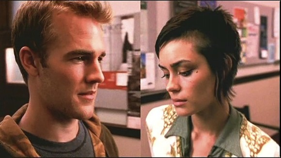 James van der Beek and Shannon Sossamon in  The Rules Of Attraction.