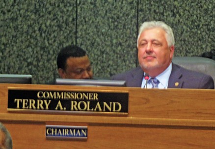 Shelby County Commission Chairman Terry Roland - JB